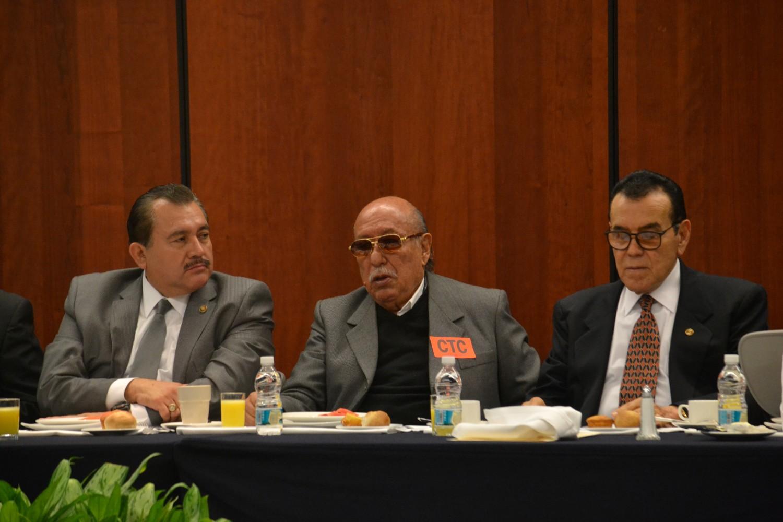 Reunión CLEM y Senadores