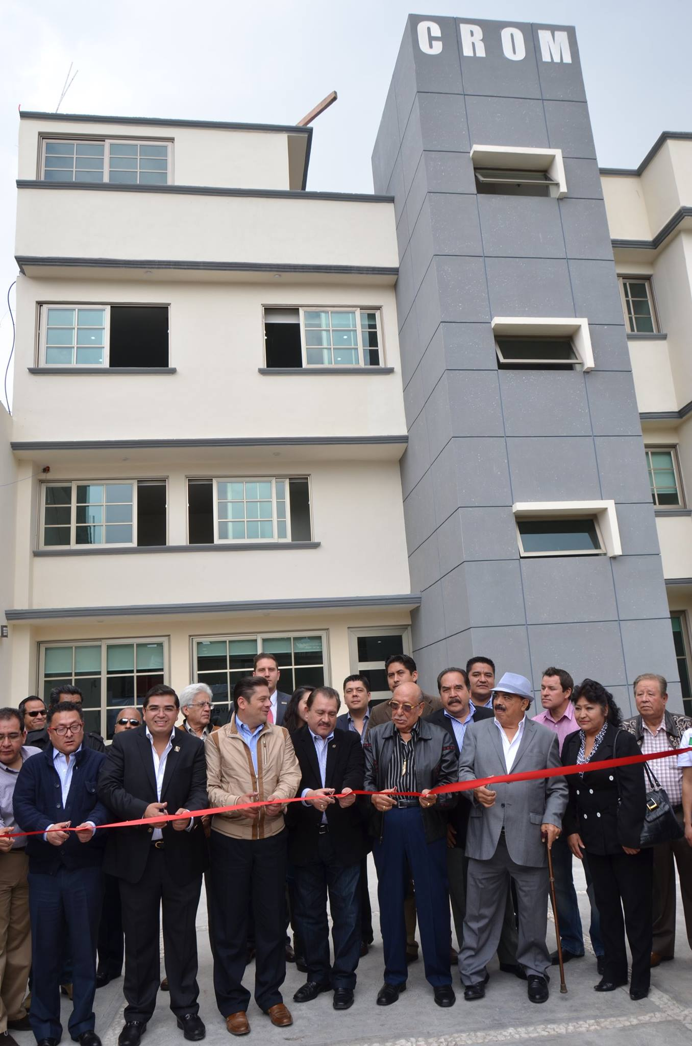 Inauguración oficinas Cuautitlán Izcalli CROM