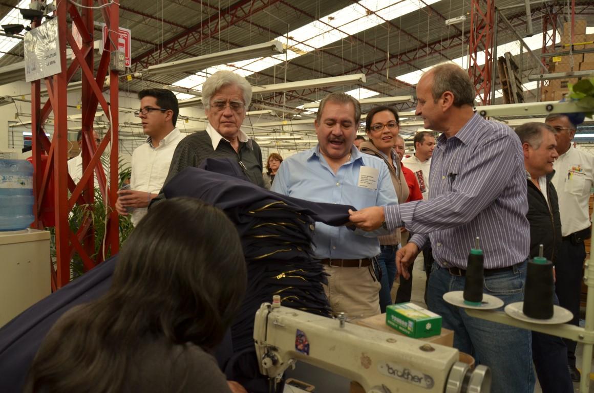 Recorrido por las plantas textileras de Tlaxcala