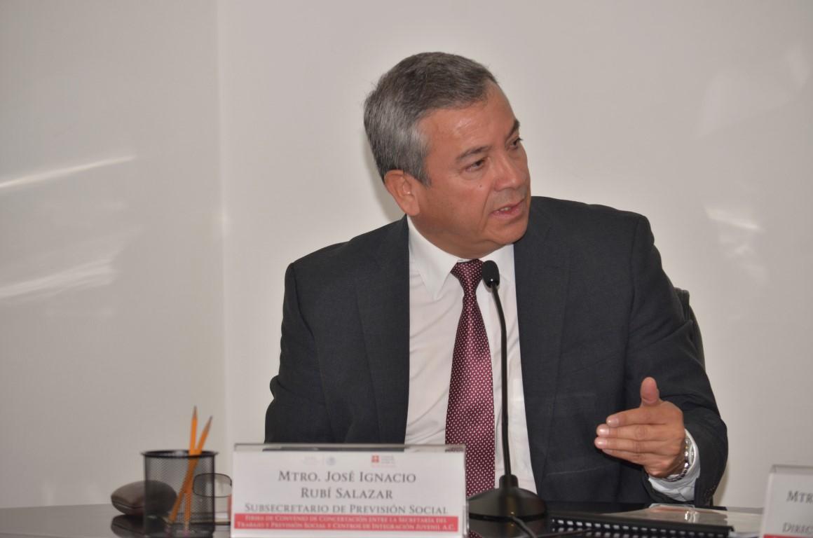 Firma de Convenio de Concertación entre la STPS y los Centros de Integración Juvenil AC