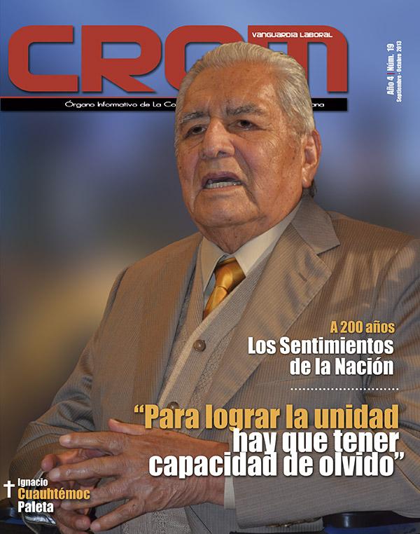Revista CROM Septiembre - Octubrev2013