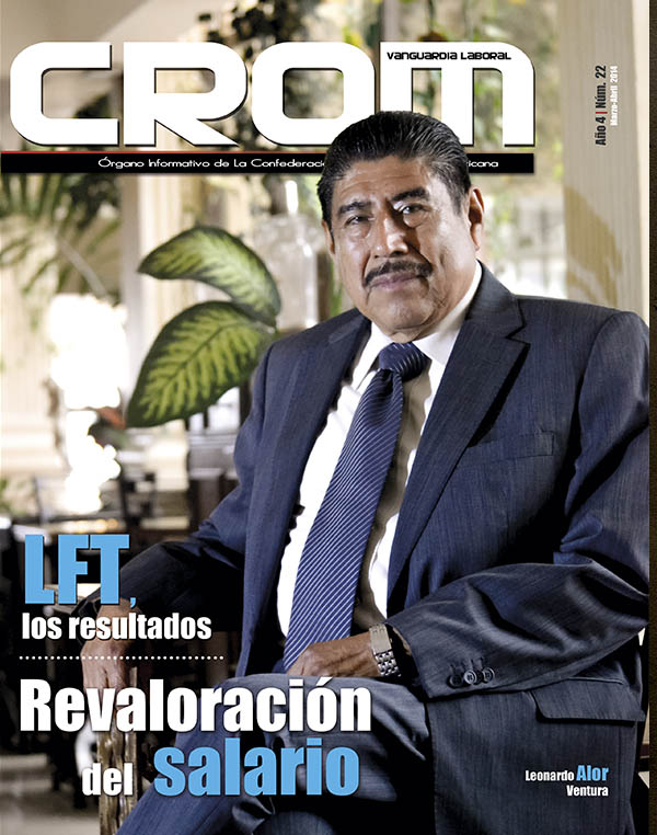 Revista CROM Marzo - Abril 2014
