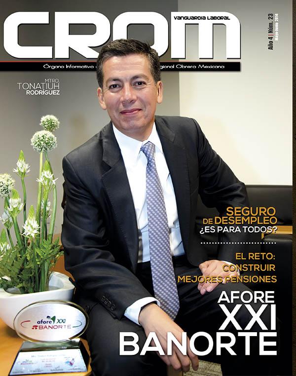 Revista CROM Mayo - Junio 2014