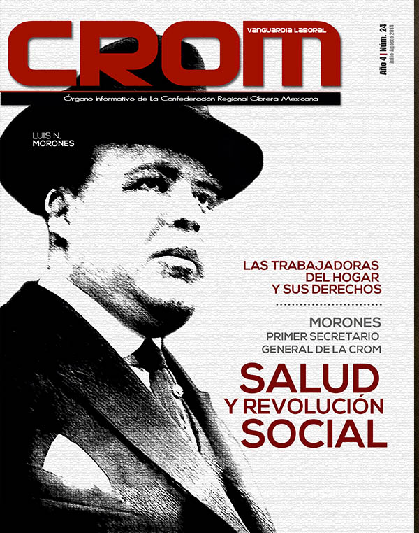 Revista CROM Julio - Agosto 2014