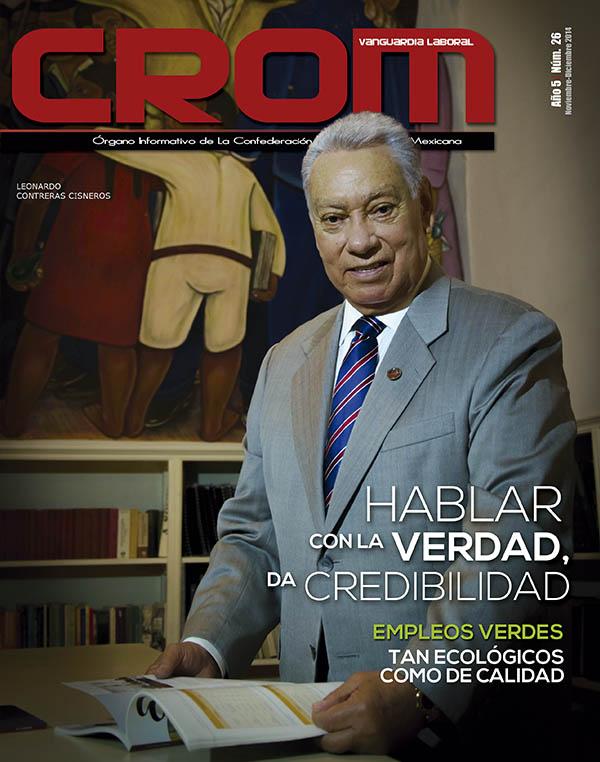Revista CROM Noviembre - Diciembre 2014