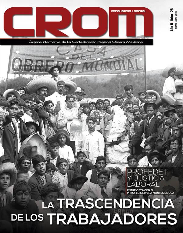 Revista CROM Marzo - Abril 2015