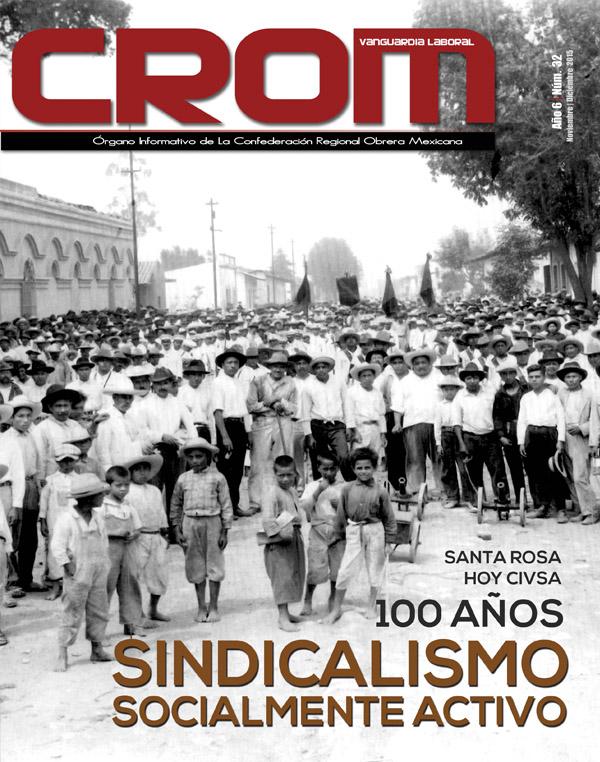 Revista CROM Noviembre - Diciembre 2015