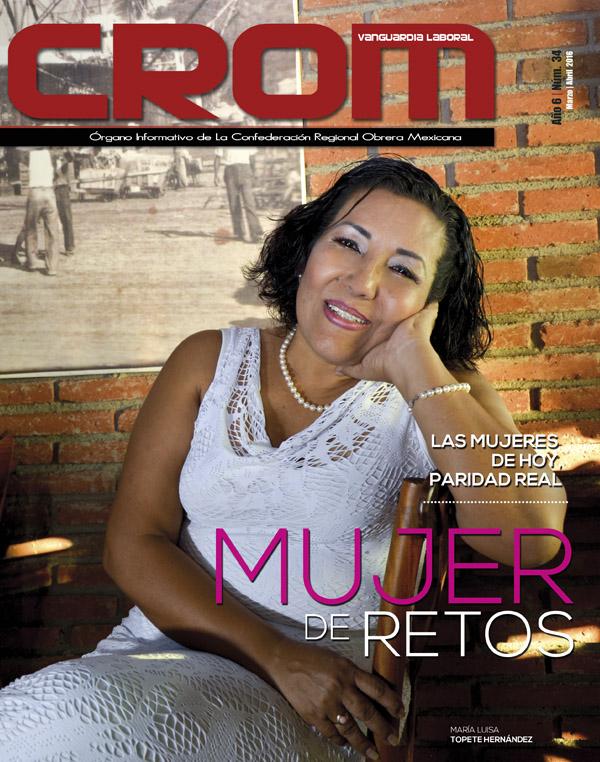 Revista CROM Marzo -Abril 2016