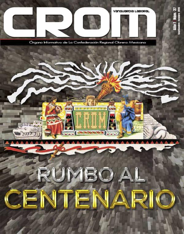Revista CROM Septiembre - Octubre 2016