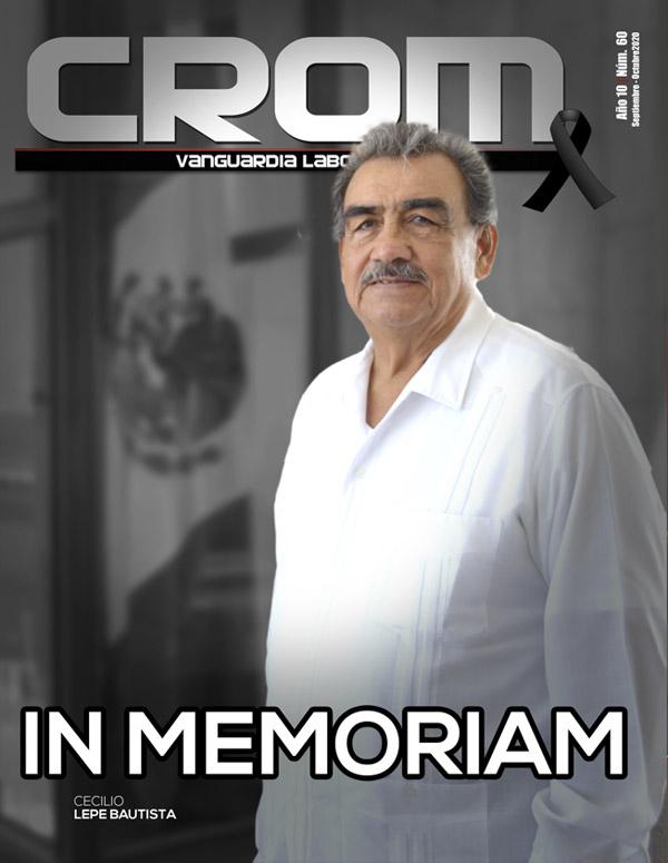 Revista CROM Septiembre - Octubre 2020
