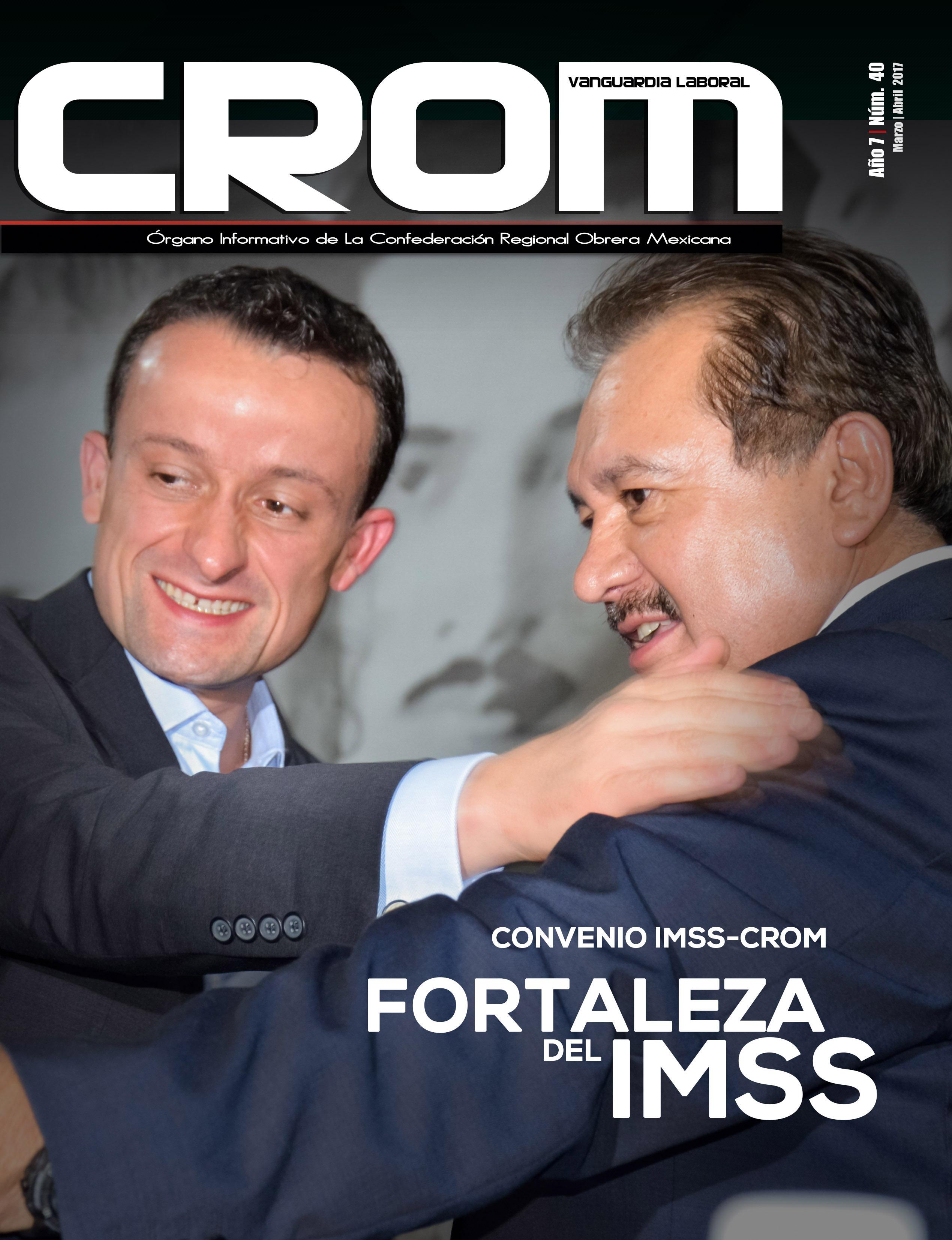 Revista CROM Marzo - Abril 2017
