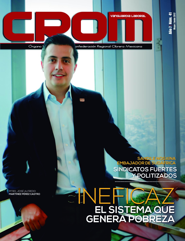 Revista CROM Mayo - Junio 2017