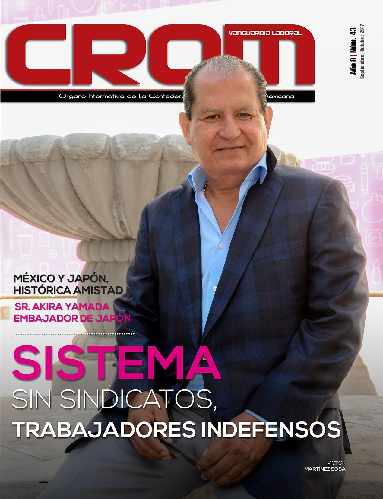 Revista CROM Septiembre - Octubre 2017
