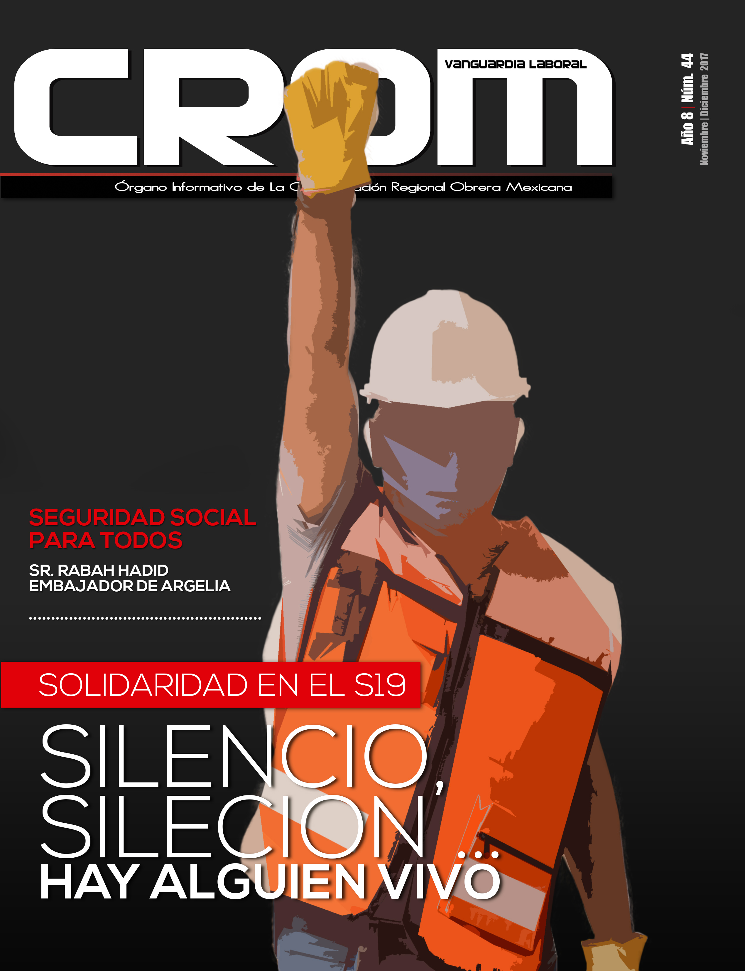 Revista CROM noviembre - diciembre 2017