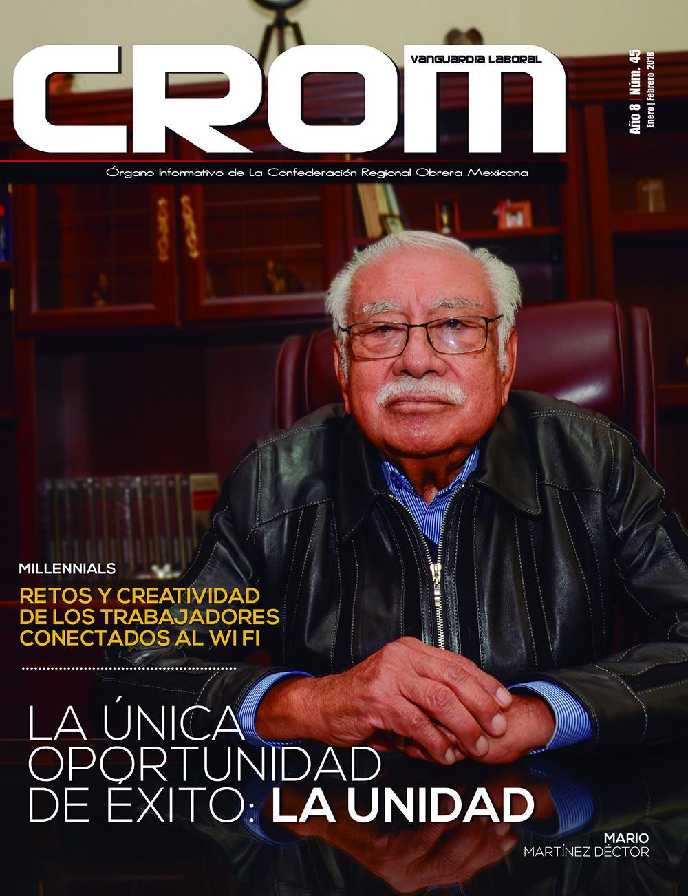 Revista CROM Enero - Febrero 2018