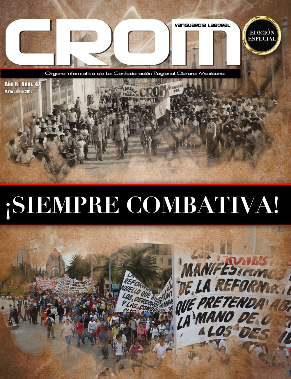 Revista CROM Mayo - Junio 2018