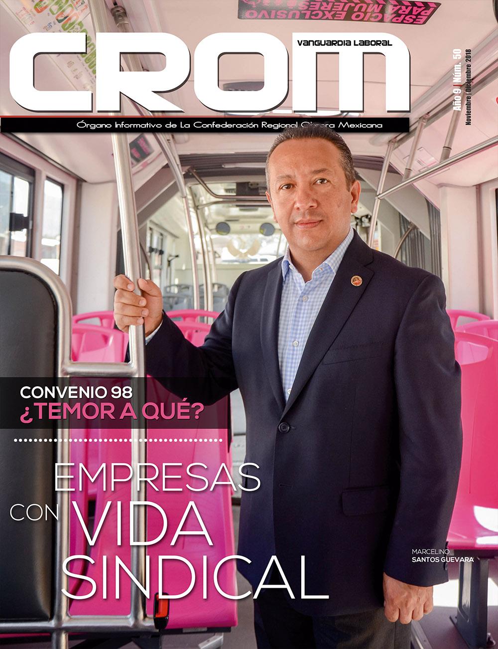 Revista CROM Noviembre - Diciembre 2018